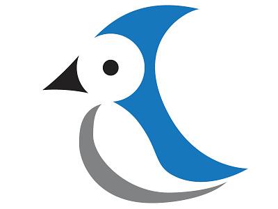 Bluejay animal vector logo