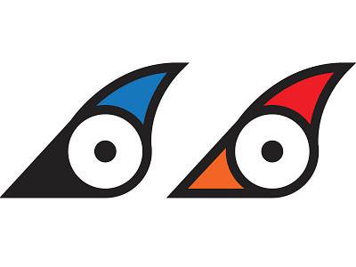 Birds animal vector logo