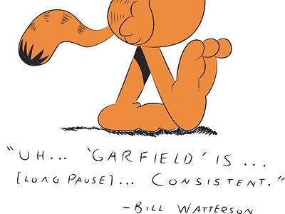 Garfield comic strip illustration