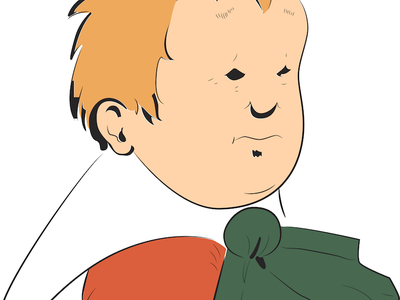 Little Sammy Sneeze comic strip illustration