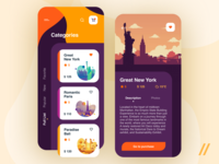 Travel App Design Concept