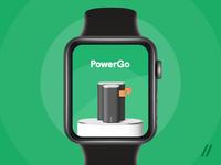 Apple Watch Power Bank Rental App