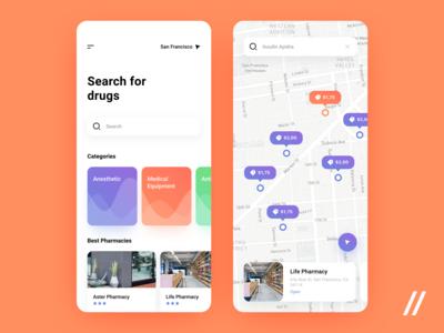 Pharmacy App Concept