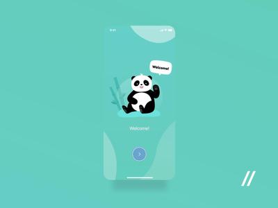 Finance App Onboarding Screens