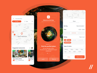 Food Recommendations App UI/UX