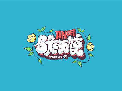 白衣天使(The doctor angel) 字体设计 icon 中文 word font 标识 商标 logo visual color
