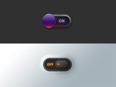 Switch Button off,light on,turn switch,ui,button,turn