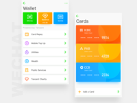 Wechat Redesign---Wallet and Cards