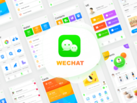 Wechat Redesign---All Screen
