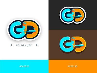 MY LOGO gd sticker icon 图标 标志 visual brand logo