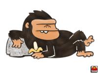 Monkey In Repose