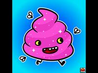 Pink Happy Poop