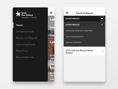 Investors Centre Navigations - Mobile Application