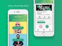 Hiring and Jobseeking mobile platform