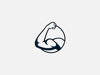 Bicep concept creative thick style firstlogo bicep logo