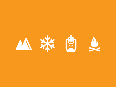 More Outdoorsy Icons