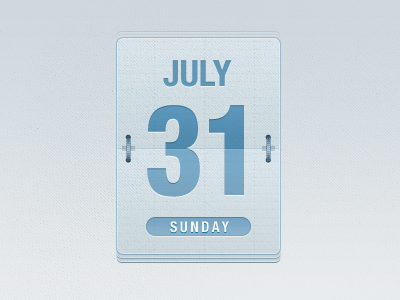 Date Flipper date flipper psd calendar
