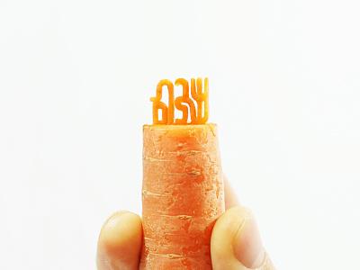 Shabbat Shalom 🥕 carrot shalom shabbat 🥕 hebrew lettering foodtype food typography