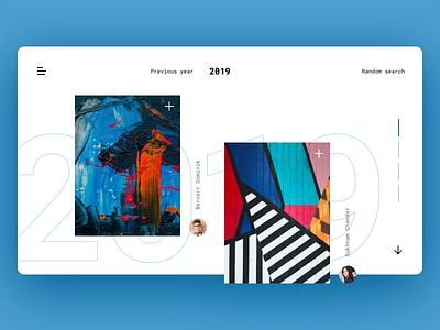 Open Art Platform upload 2019 art photograhy app ux typography interaction ui interface minimal design