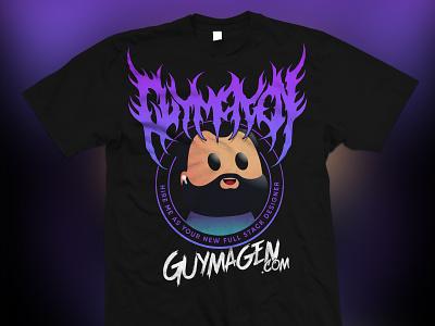 Metalhead me. deathmetal merchandise drawing logo branding swag metal