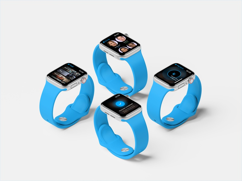 PayK Apple Watch app concept app notreal concept watchos applewatch