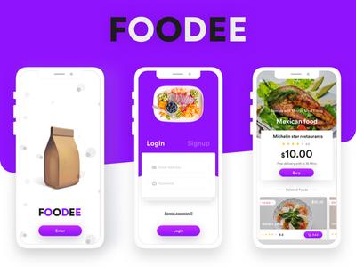 Introducing Foodee sharing lunch app ios