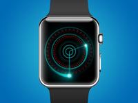 Apple Watch Clock Concept