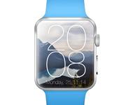 Apple Watch Modern Clock Concept