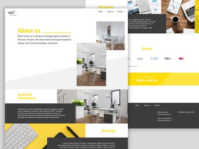 Wide Vision website