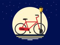Bike by night