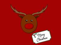 Rudolph Merry Christmas