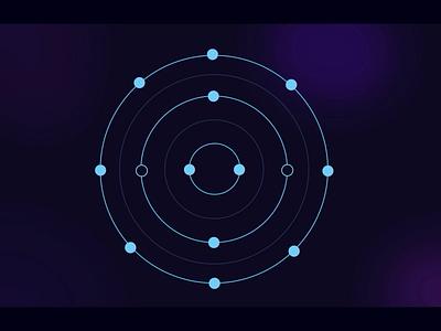 Crypto meets Sound infographic explainer vector animation 2d illustration cinematic nodes motiongraphics sound design icon crypto motion animation minimal art