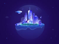 Floating city exploriation