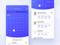 Mobiapp – Mobile Medicine App, Calendar