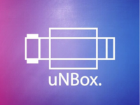 Unbox logo design