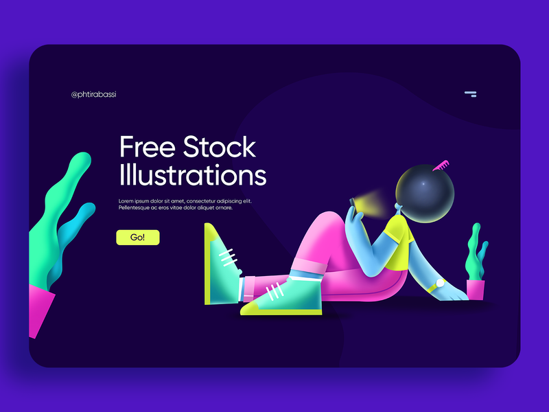Free Stock Illustrations Concept color ux aplication flat design uidesign flat  design ui flat illustration design illustration
