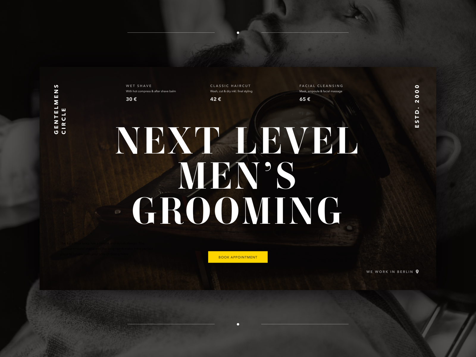 Barbershop Website