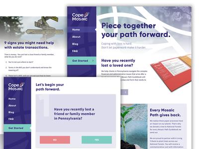 Cope Mosaic Website