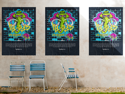 Hackerone H1-213 Live Hacking Poster screenprint branding poster