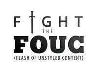 Fight the FOUC