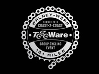 W2W (Walney 2 Wear) Cycling Logo