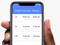 College Commuter App