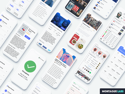 Digital Creative Agency uxdesign uidesign daily 100 challenge dailyui uiux appstore agency design agency website apps white illustration mobile app design clean ui ios ux sketch