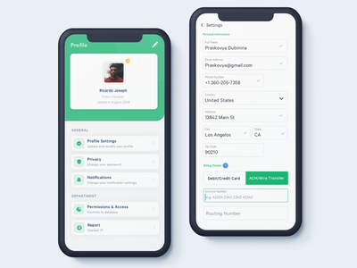 Forms lists profile settings ui settings page design ui clean ux ios sketch details form field input list form design settings form forms