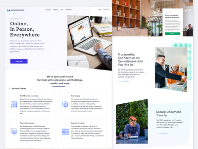 Accounting Firm taxes service money app grid gradients website web app ui clean ux ios sketch accounting software money taxi app tax software tax business accounting