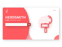 Herdsmith Landing Page