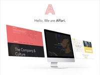 Hello, We are Affari