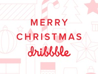 Merry Christmas! To Dribbble, from Saus