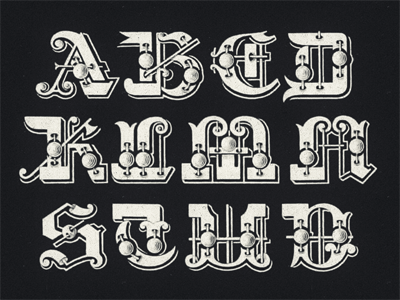 »Galileo« Type Project ... typography lettering type typo type revival tuscan typeface ornamental antique