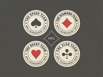 Poker Tournament Badges ... typography lettering type typo typeface badge label poker vector graphic playing card symbols freebie download